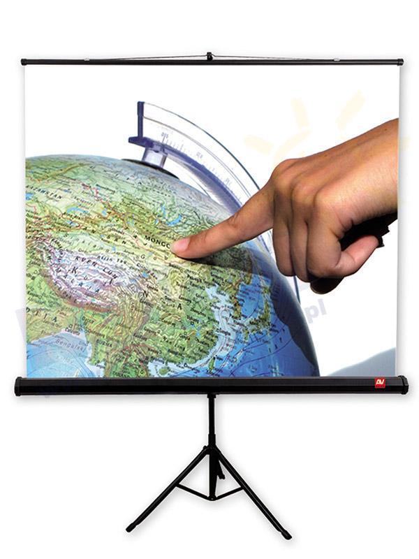 Ekran na statywie AVTek 200 x 200 cm