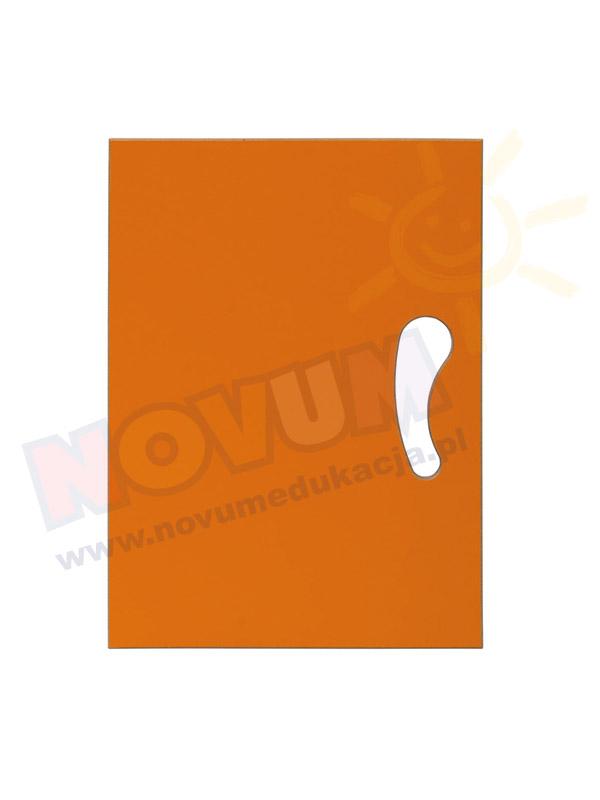 Drzwiczki N pomarańczowe