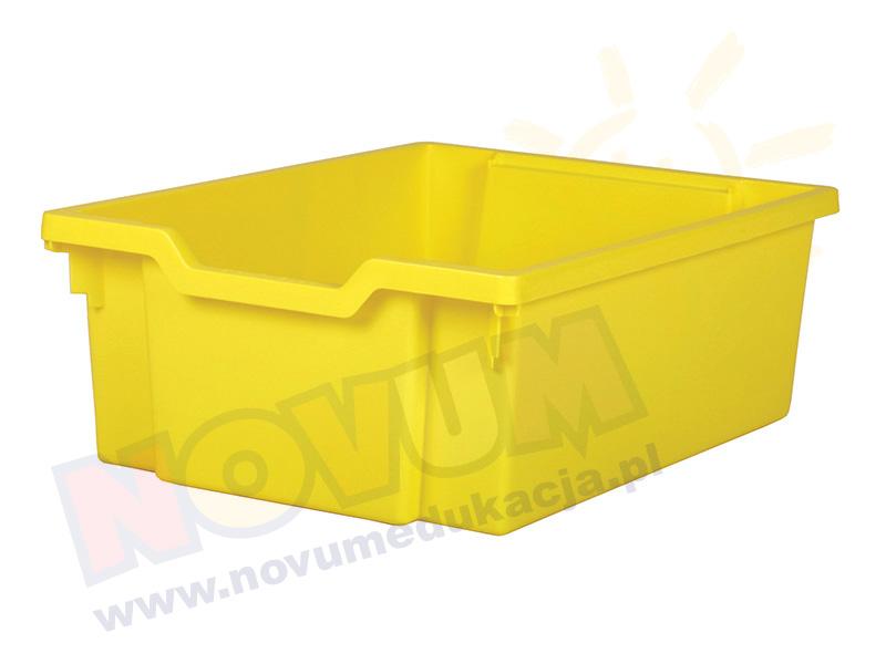 Średni pojemnik - żółty