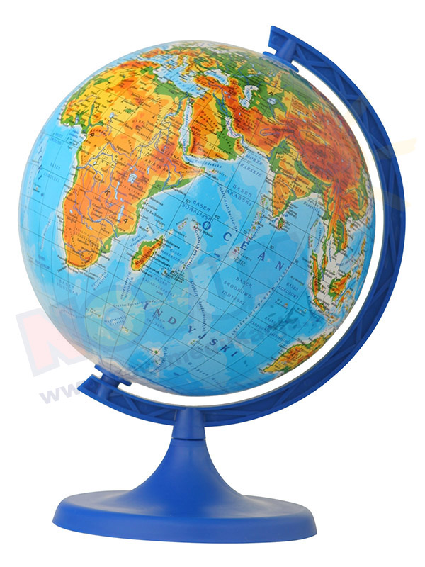 Globus fizyczny śr.160